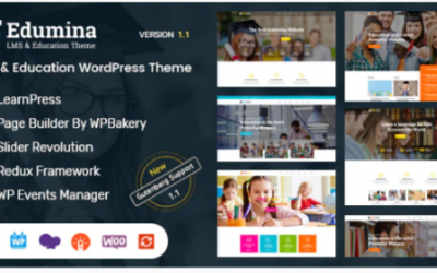 You are downloading Edumina - LMS & Education WordPress Theme Nulled whose current version has been getting more updates nowadays, so, please