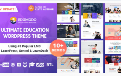 You are downloading Edumodo - Education WordPress Theme Nulled whose current version has been getting more updates nowadays, so, please keep visiting