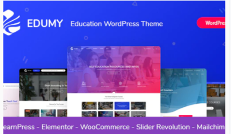 Download Edumy – LMS Online Education Course WordPress Theme Nulled