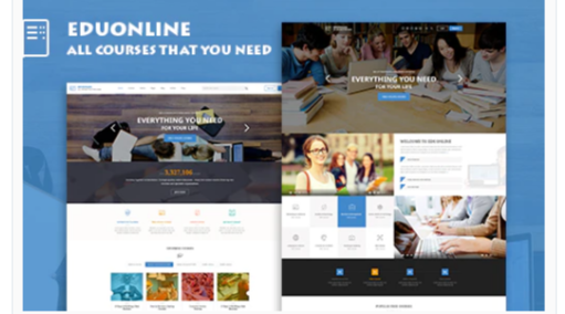 Download Eduonline – Education & University WordPress Theme Nulled