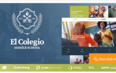 You are downloading El Colegio - School & Education WP Theme with LMS Nulled whose current version has been getting more updates nowadays, so, please