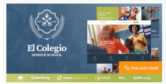 Download El Colegio – School & Education WP Theme with LMS Nulled