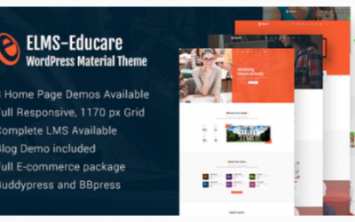 ou are downloading Elms - Educational Material WordPress Theme Nulled whose current version has been getting more updates nowadays, so, please