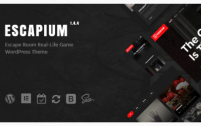 You are downloading Escapium - Escape Room Game WordPress Theme Nulled whose current version has been getting more updates nowadays, so, please