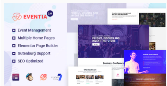 Download Eventia – Responsive Event WordPress Theme Nulled