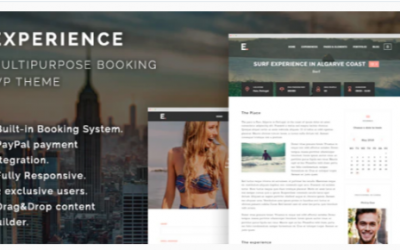 You are downloading Experience – Multipurpose Booking WordPress Theme Nulled whose current version has been getting more updates nowadays,