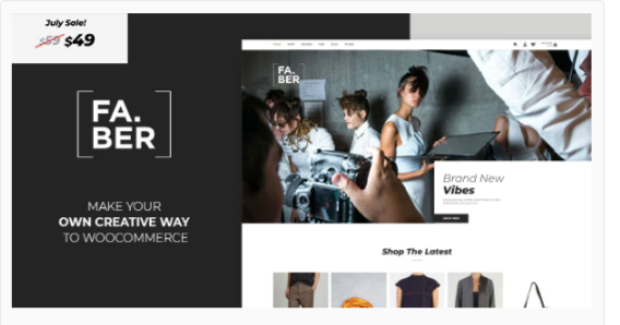 Download Faber – Fashion & Clothing Shop for Woocommerce Nulled