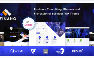 You are downloading Finano - Consulting Finance WordPress Nulled whose current version has been getting more updates nowadays, so, please keep visiting