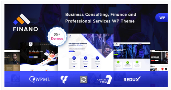 Download Finano – Consulting Finance WordPress Nulled