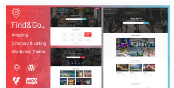 Download Findgo – Directory Listing WordPress Theme Nulled