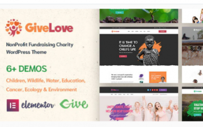 You are downloading Givelove | Charity & Crowdfunding WordPress Theme Nulled whose current version has been getting more updates nowadays,