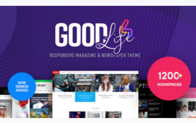 You are downloading GoodLife - Magazine & Newspaper WordPress Theme Nulled whose current version has been getting more updates nowadays, so, pleas