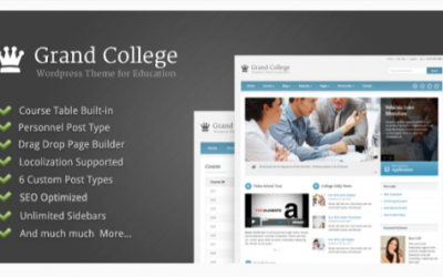 You are downloading Grand College - Wordpress Theme For Education Nulled whose current version has been getting more updates nowadays, so, please