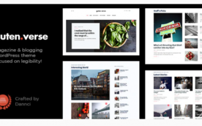 You are downloading GutenVerse - Magazine and Blog Theme Nulled whose current version has been getting more updates nowadays, so, please keep visiting