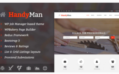 You are downloading Handyman - Job Board WordPress Theme Nulled whose current version has been getting more updates nowadays, so, please