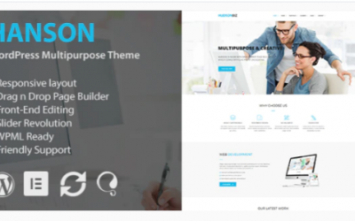 You are downloading Hanson - Multipurpose WordPress Theme Nulled whose current version has been getting more updates nowadays, so, please keep visiting