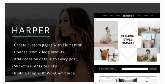 Download Harper – A Blog Theme for WordPress Nulled