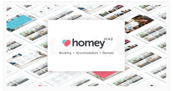 Download Homey – Booking and Rentals WordPress Theme Nulled