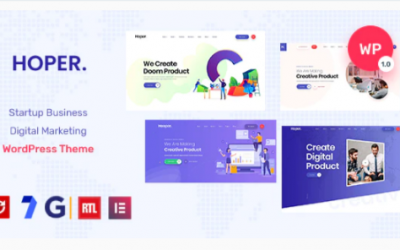 You are downloading Hoper - Digital Marketing & Startup Theme Nulled whose current version has been getting more updates nowadays, so, please keep visiting