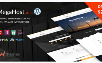 You are downloading Hosting WordPress theme with WHMCS - MegaHost Nulled whose current version has been getting more updates nowadays, so, please