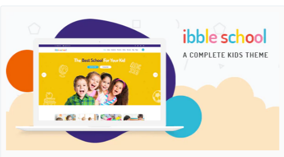 Download Ibble – Creative Education WordPress Theme Nulled