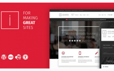 You are downloading Icelander - Accessible Business Portfolio & WooCommerce WordPress Theme Nulled whose current version has been getting more updates