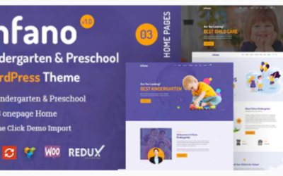 You are downloading infano - Kindergarten & Preschool WordPress Theme Nulled whose current version has been getting more updates nowadays, so, please