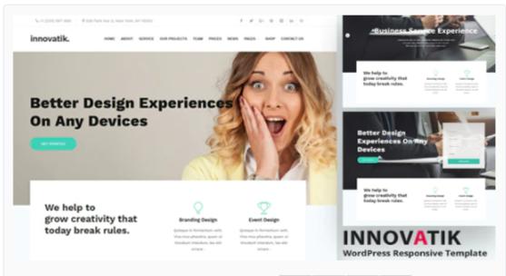 Download Innovatik – Professional Corporate WordPress Theme Nulled