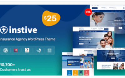 ou are downloading Instive - Insurance WordPress Theme Nulled whose current version has been getting more updates nowadays, so, please keep