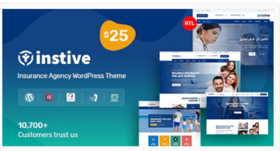Download Instive – Insurance WordPress Theme Nulled