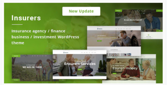 Download Insurers – Insurance Agency WordPress Theme Nulled