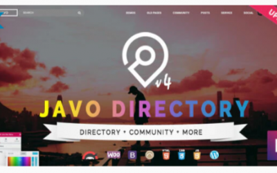 You are downloading Javo Directory WordPress Theme Nulled whose current version has been getting more updates nowadays, so, please keep visiting for gettin