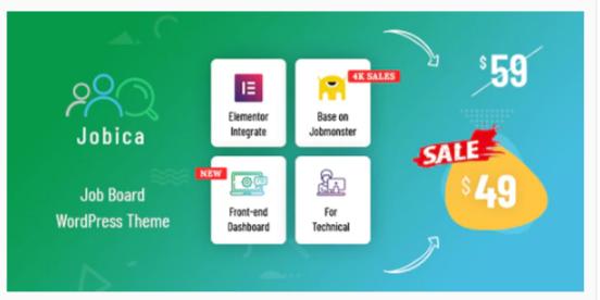 Download Jobica – Elementor IT Job Board WordPress Theme Nulled