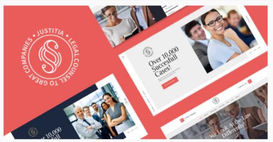 Download Justitia   Multiskin Lawyer & Legal Adviser WordPress Theme Nulled