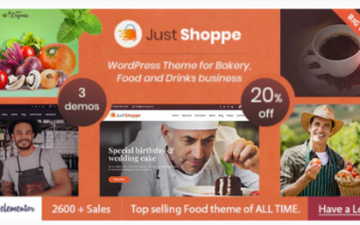 You are downloading Justshoppe - Elementor Cake Bakery WordPress Theme Nulled whose current version has been getting more updates nowadays, so, please