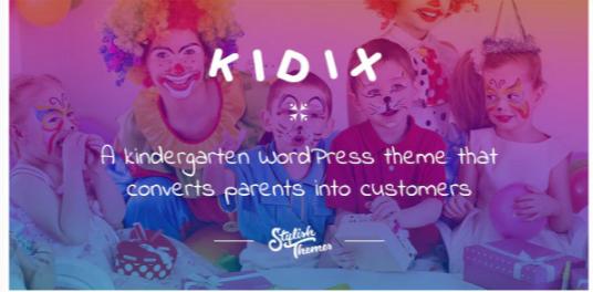 Download KIDIX – A Kindergarten WordPress Theme Nulled