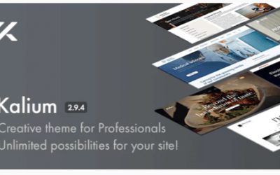 You are downloading Kalium - Creative Theme for Professionals Nulled whose current version has been getting more updates nowadays, so, please keep visiting