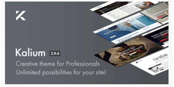 Download Kalium – Creative Theme for Professionals Nulled