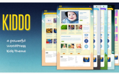 Download Kiddo: A Powerful Kids Theme Nulled