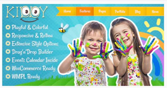Download Kiddy – Children WordPress theme Nulled
