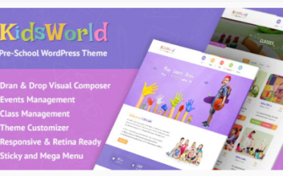 You are downloading KidsWorld - Kindergarten and Child Care WordPress Theme Nulled whose current version has been getting more updates nowadays, so, please