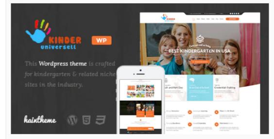 Download Kinder – Kindergarten & School WordPress Theme Nulled