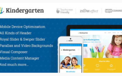 You are downloading Kindergarten | Day Care & Children School Education WordPress Theme Nulled whose current version has been getting more updates nowadays