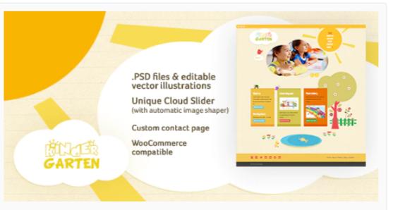 Download Kindergarten WordPress Theme Nulled