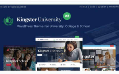 You are downloading Kingster - Education WordPress For University, College and School Nulled whose current version has been getting more updates nowadays, so, please