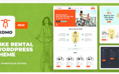 You are downloading Komo - Bike Rental Shop WordPress Nulled whose current version has been getting more updates nowadays, so, please keep visiting