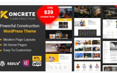 You are downloading Koncrete - Construction Building WordPress Theme Nulled whose current version has been getting more updates nowadays, so, please