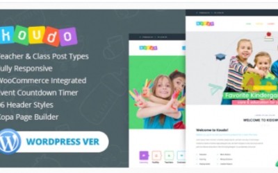 You are downloading Koudo Education WordPress theme Nulled whose current version has been getting more updates nowadays, so, please keep visiting for getting