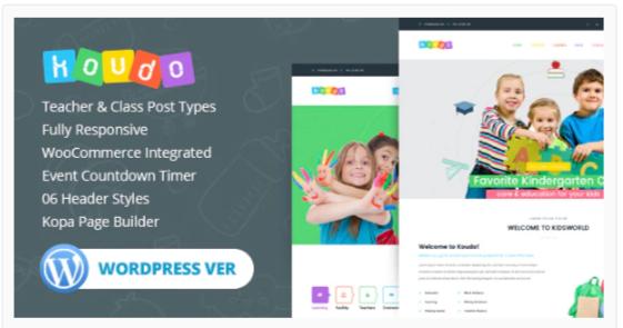 Download Koudo Education WordPress theme Nulled