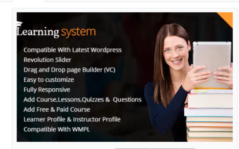Download LMS WordPress Theme| Education | Elearning | Online Course Nulled